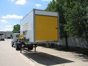 Mobile Self Storage Delivery System
