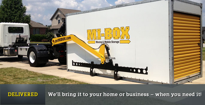 We'll bring it to your home or business - when you need it!