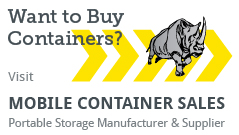 Want to buy containers - Mobile Container Sales