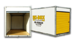 MiBox Self Storage Containers Delivered to you and Stored where you want it