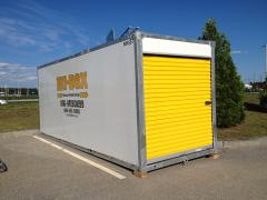 20 ft. mobile storage container