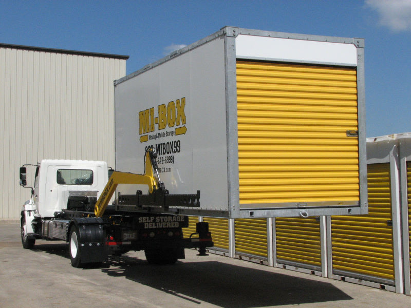 Airdrie Storage by MI-BOX Mobile Storage & Moving