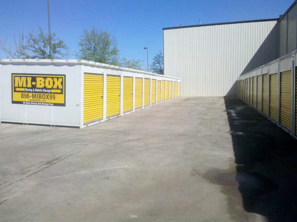 Security-Widefield Storage by MI-BOX Mobile Storage & Moving