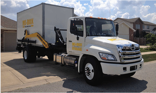 Mobile Storage & Moving in Irving, Texas by MI-BOX
