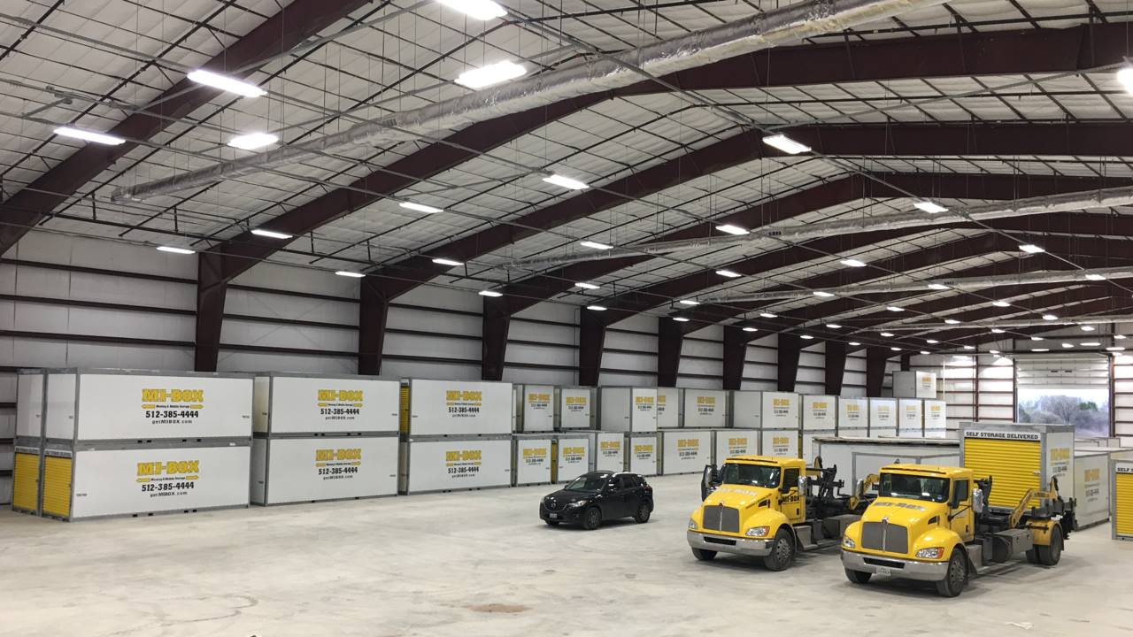 MI-BOX Mobile Storage vs PODS® in Paige, TX