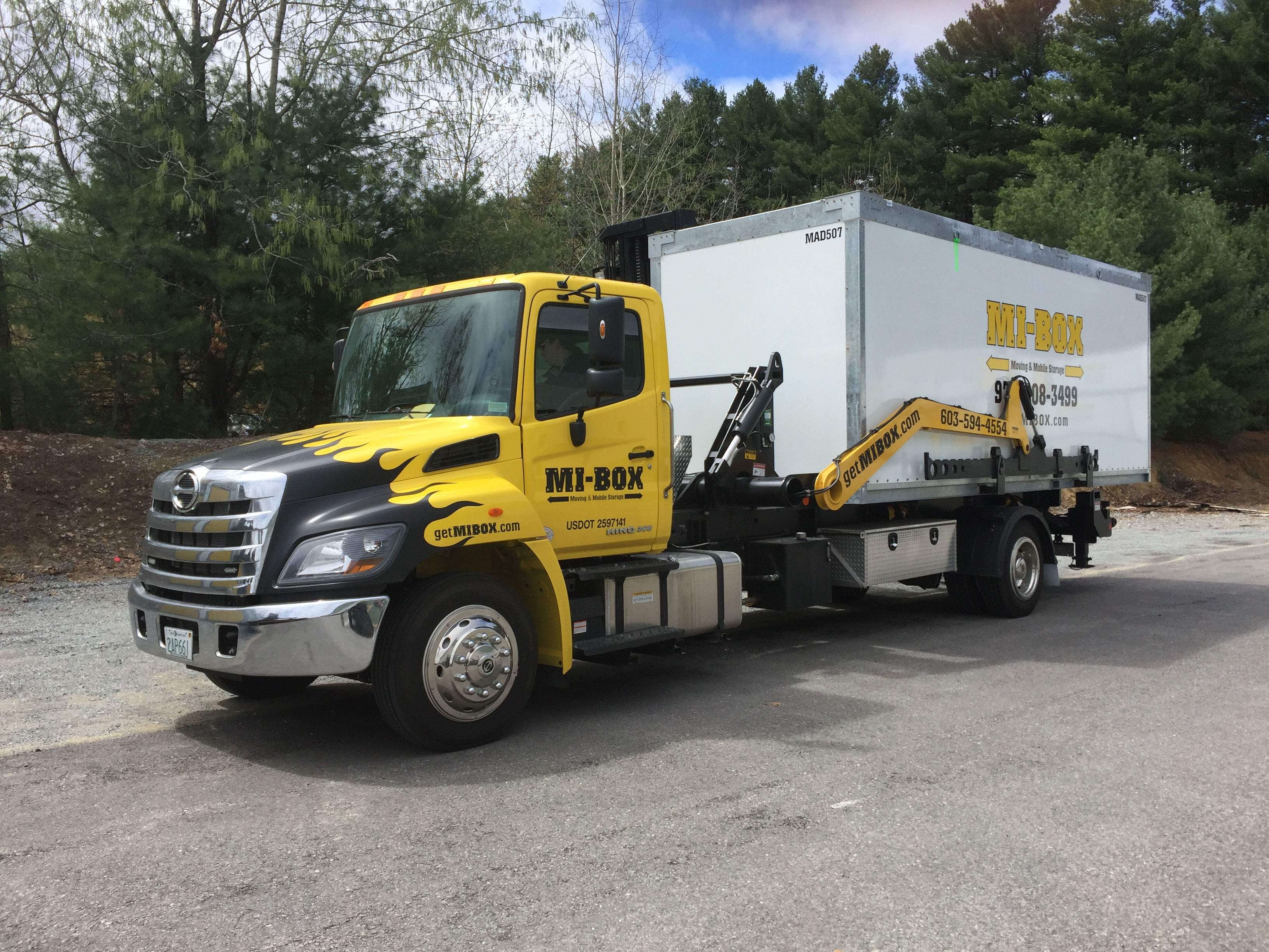 MI-BOX Mobile Storage & Moving Greater Billerica & Burlington