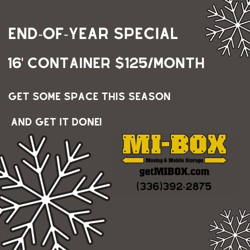 MI-BOX Sedalia, North Carolina Mobile Storage & Moving