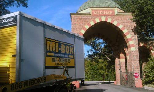 MI-BOX goes to the Ryder Cup. Well, at least 27 boxes were there to service this great event.